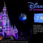 Novembro na Disney